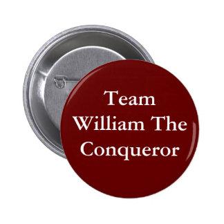 Team William the Conqueror badge Button