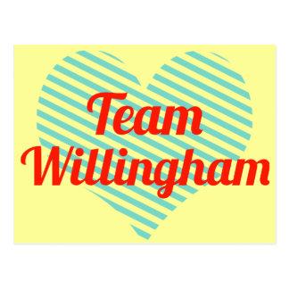 Team Willingham Postcard