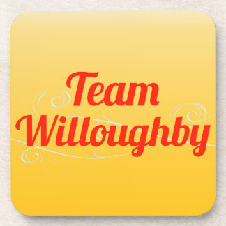 Team Willoughby Drink Coaster
