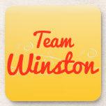 Team Winston Drink Coaster