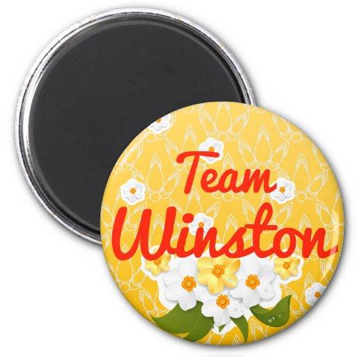 Team Winston Refrigerator Magnets