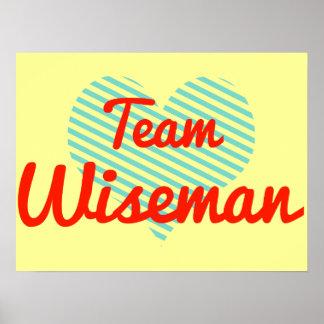 Team Wiseman Posters