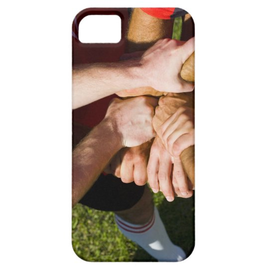 Team with arms-in iPhone SE/5/5s case