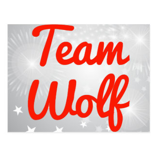Team Wolf Post Cards