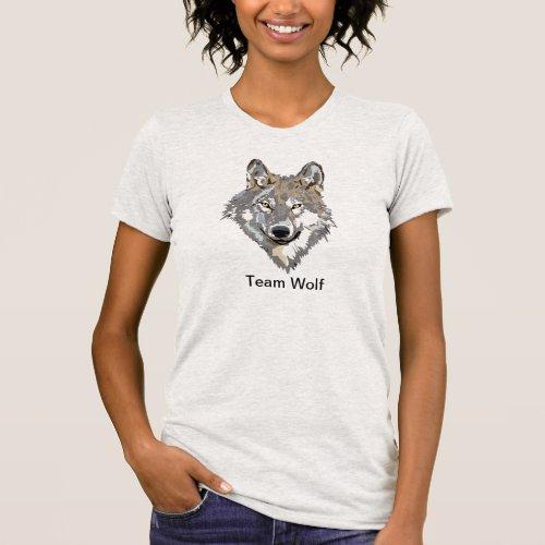 Team Wolf Tee Shirt