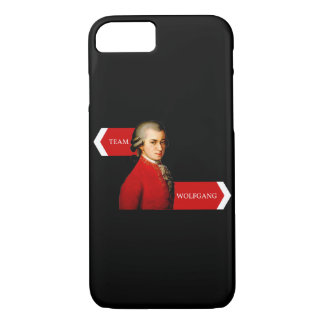 Team Wolfgang.  Amadeus Mozart fan iPhone 7 Case