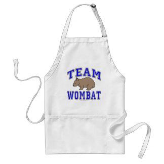 Team Wombat II Adult Apron