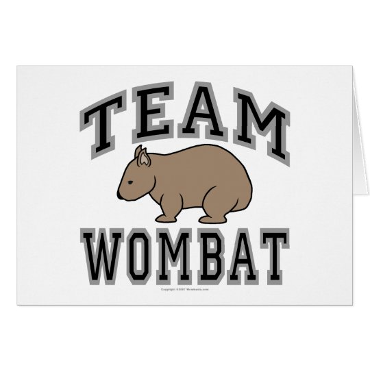 Team Wombat V Card