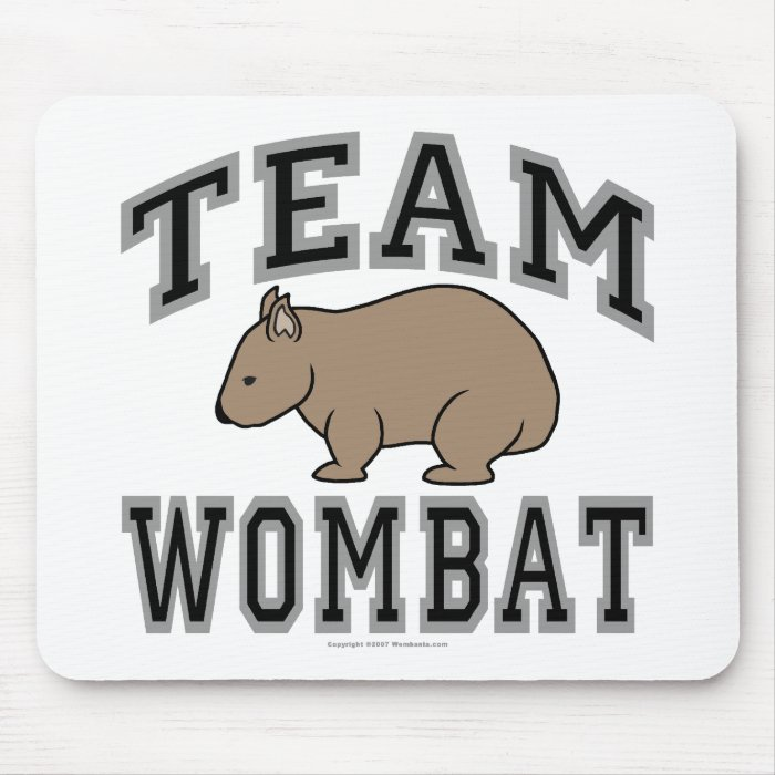 Team Wombat V Mouse Pad