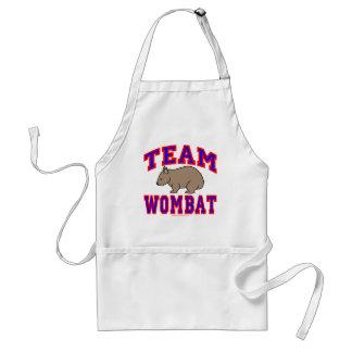 Team Wombat VI Adult Apron