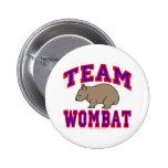 Team Wombat VI Pin