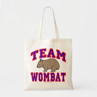 Team Wombat VI Tote Bag