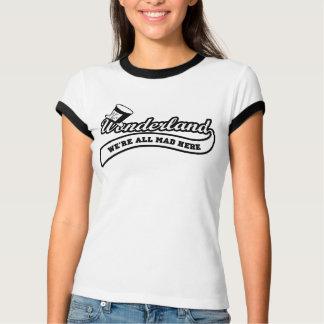 Team Wonderland:  Mad Hatter (black) T-Shirt