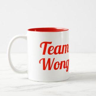Team Wong Two-Tone Coffee Mug