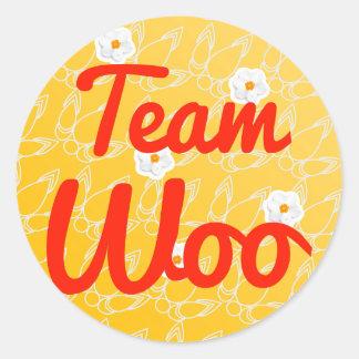 Team Woo Stickers