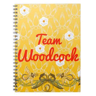 Team Woodcock Spiral Notebook