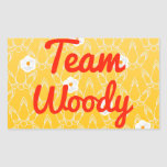 Team Woody Stickers