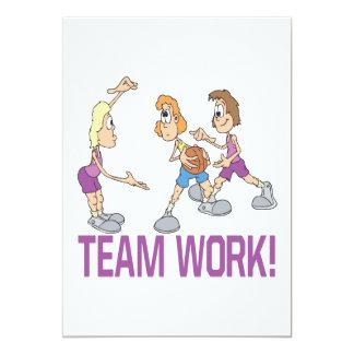 Team Work Card