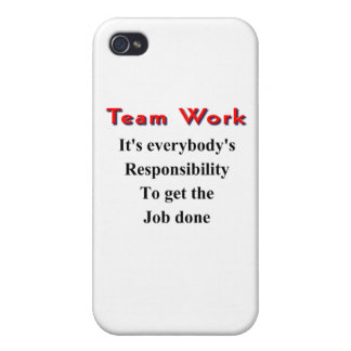 Team work case for iPhone 4