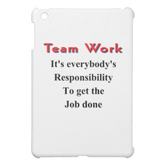 Team work case for the iPad mini