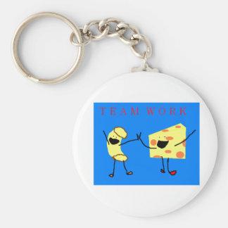 Team Work Keychain