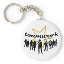 Team-work Keychain