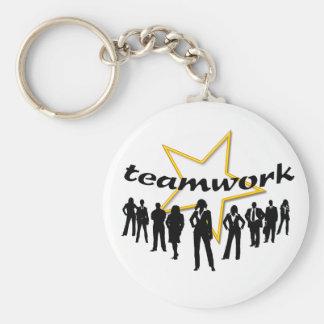 Team-work Keychain