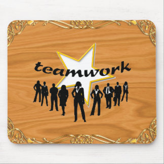 Team-work Mouse Pad