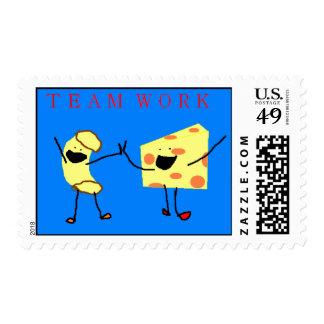team work stamp