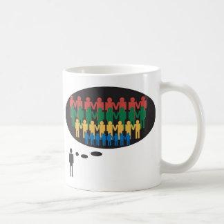 Team work Theme Coffee Mug