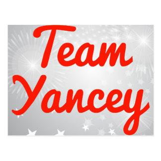 Team Yancey Post Card