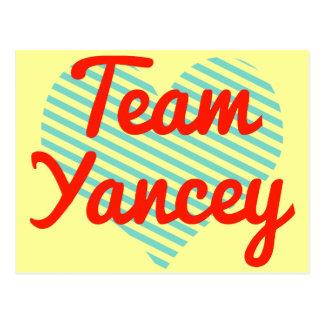 Team Yancey Post Cards