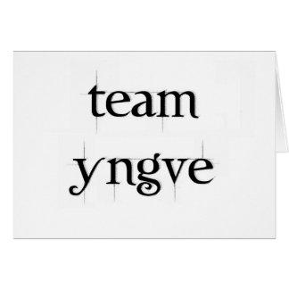 Team Yngve Card