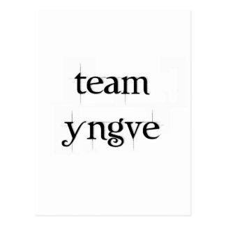Team Yngve Postcard