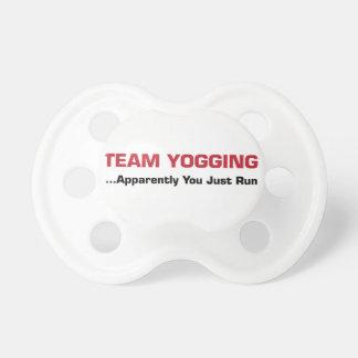 Team Yogging Pacifier