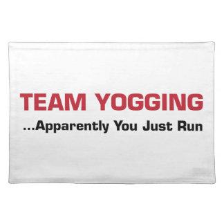 Team Yogging Placemat