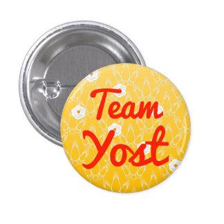 Team Yost Pin