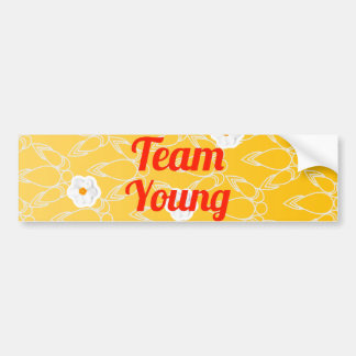 Team Young Car Bumper Sticker