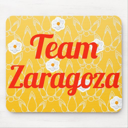 Team Zaragoza Mouse Pads