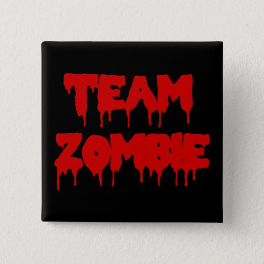 Team Zombie Pinback Button