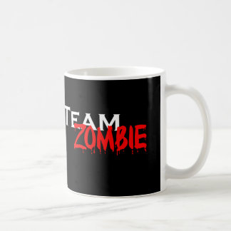 "Team Zombie ""Resistance is futile"" Mug"