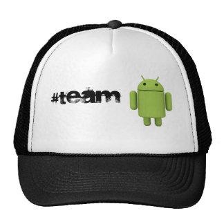 #TeamAndroid Hat