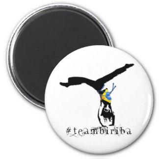 #teamBiriba Round Magnet