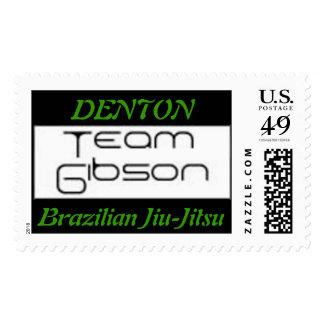 TeamGibson, DENTON, Brazilian Jiu-J... Postage Stamps