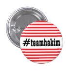 #teamhakim pinback button