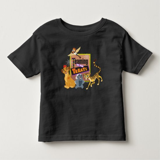 Teaming up for Treats Toddler T-shirt