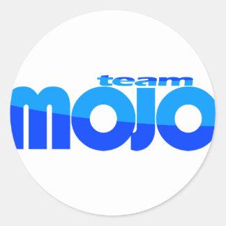 TeamMojo Classic Round Sticker
