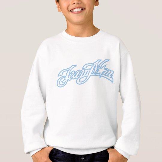 TeamMom Blue Logo Sweatshirt