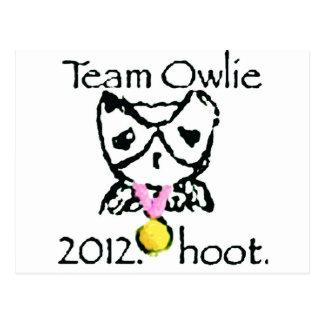 teamowlie2012 ravvie stuff postcard