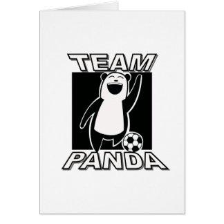 TeamPanda copy Greeting Card